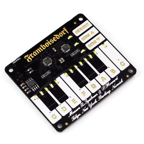 Piano HAT - the ultimate mini musical companion for your Raspberry Pi!