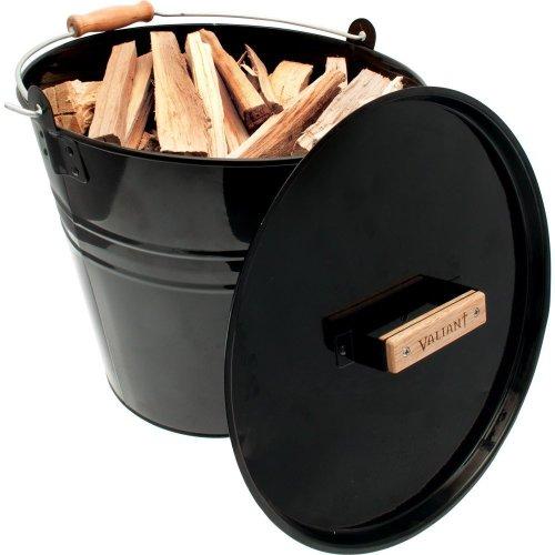 Valiant Fireside Kindling, Log, Coal & Fuel Storage Skuttle Bucket (FIR243)