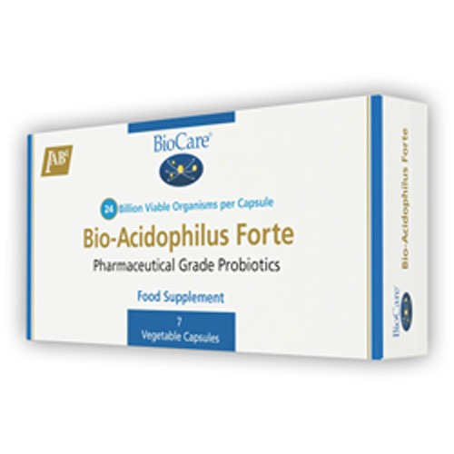 Biocare Bio-acidophilus Forte (10 Billion)   60 Caps