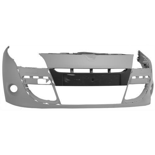 Renault Megane Coupe  2009-2012 Front Bumper No Sensor Holes - Primed (Standard Models)