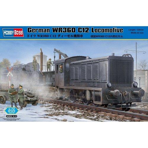 Hbb82913 - Hobbyboss 1:72 - German Wr360 C12 Locomotive