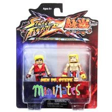 Minimates: Street Fighter X Tekken Series 1 Ken vs Steve