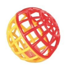 Trixie Plastic Rattling Ball With Bell, 4.5 Centimetres - Bird Rattle Toy Bell -  bird rattle ball toy bell trixie budgie 5360 45cm