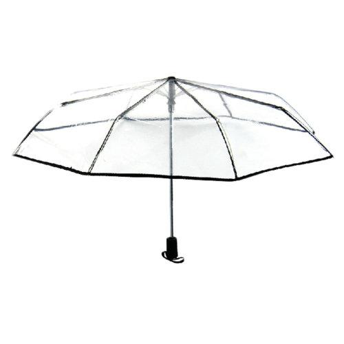 Creative Transparent Collapsible Umbrella Automatic Umbrella