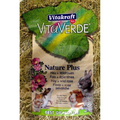 Vita Verde Hay & Wild Rose 500g (Pack of 6)