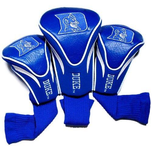 NCAA Duke Blue Devils 3 Pack Contour Head Covers