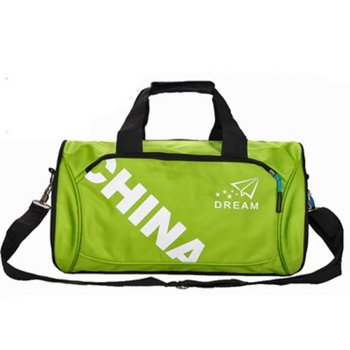 Classical Sports Bag Gym Duffel Bag Travel Luggage Bag for Sports, Gym, Vacation, D