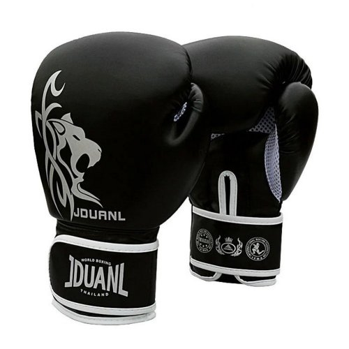 Adult Boxing Gloves - High Protective Gloves Assaults  2 ---- Black