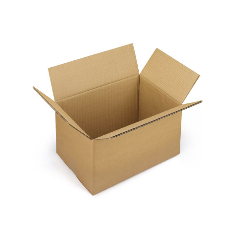 1x Postal Cardboard Box Mailing Shipping Carton 520x340x520mm Brown