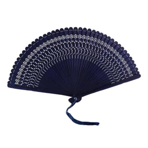 Chinoiserie Classical Bamboo Fan Hand Fan Beautiful Folding Fan Handheld Fan #06