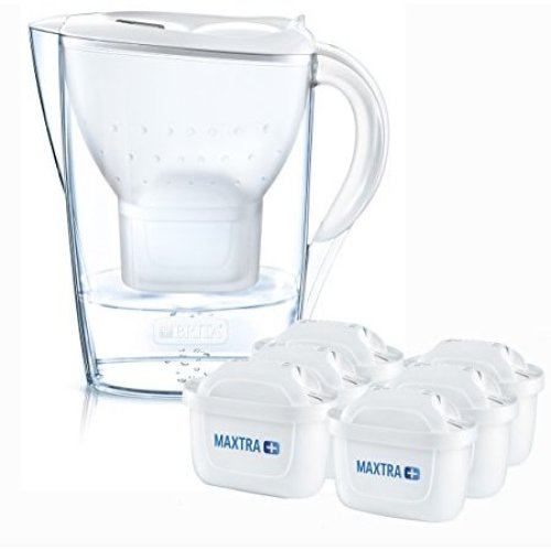 BRITA Marella Cool Water Jug & 6 MAXTRA+ Filters