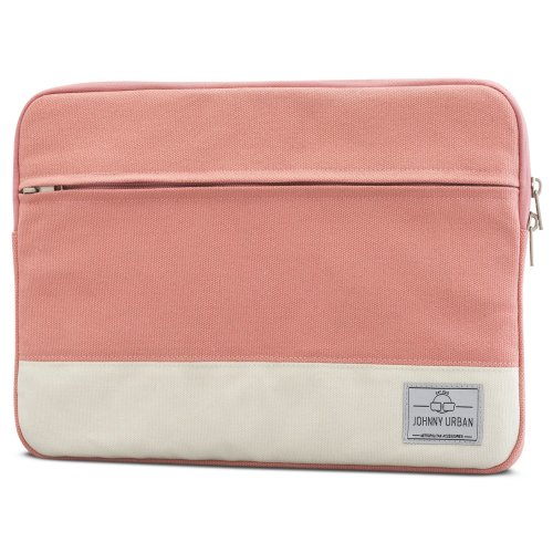 63ea1ba253e Johnny Urban Laptop Sleeve 13-13.3 Inch Pink Canvas Bag for MacBook Air 13