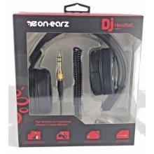On-Earz DJ Headset HEADPHONe On-Ear Earphones High Definition