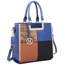 Miss Lulu Women Check Square Handbag Shoulder Bag