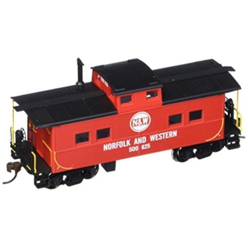 Bachmann Industries Norfolk & Western Red #500825 Northeast Steel Caboose (HO Scale Train)