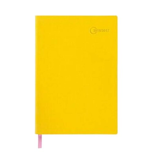 Yellow Office Notebook Portable Schedule Personal Organizer