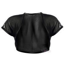 Grace & Flair - Ladies Black Chiffon Short Sleeve Bolero Size 6-30