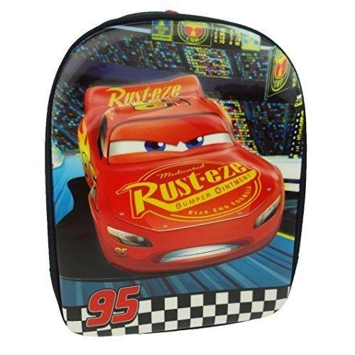 3af93da6555 Disney Cars Children's Backpack, 31 Cm, 7 L, Black - Lightning Mcqueen  Official - cars lightning mcqueen official 3d eva kids school backpack on  OnBuy