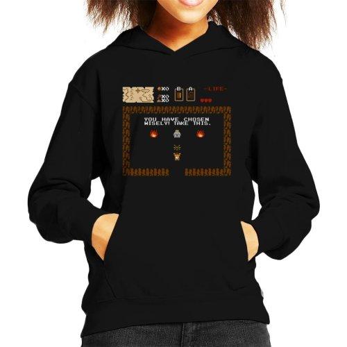 Indiana Jones You Have Chosen Wisely Kid's Hooded Sweatshirt
