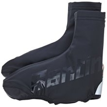 Santini 365 Wall Aero Waterproof Overshoe - Black, Large - Cycling Sp 577 -  wall large santini aero waterproof cycling overshoe sp 577 medium x