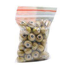 [J] 100 Pcs Ceramic 6mm Beads for DIY Craft/Necklace/Bracelet-Dessert