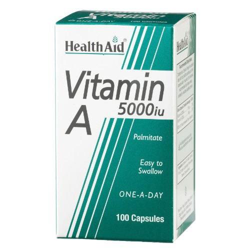 Healthaid Vitamin a 5000iu 100 Capsules