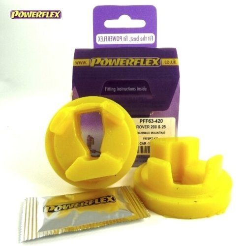 POWERFLEX - PFF63-420 - GearBox Mounting Insert Kit For Rover 200 & 25
