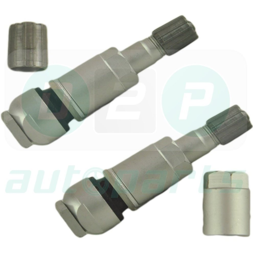 2x TPMS TYRE PRESSURE SENSOR VALVE REPAIR KIT FOR DODGE NITRO & DURANGO