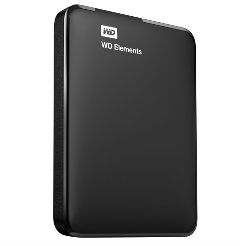 Western Digital Elements Portable USB Type-A 3.0 (3.1 Gen 1) 2000GB Black