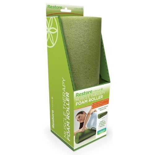 Gaiam Restore Muscle Therapy Foam Roller 18 W Digital Workout