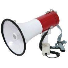 Megaphone (30W max) with Siren