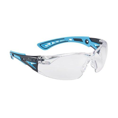 Bolle RUSH+ RUSHPPSIB Safety Glasses - Clear Lens