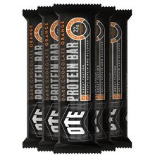 Ote Protein Bar 20 x 45g (chocolate Orange) - Orange Chocolate 20 Colour -  orange chocolate ote protein bar 20x 45g colour