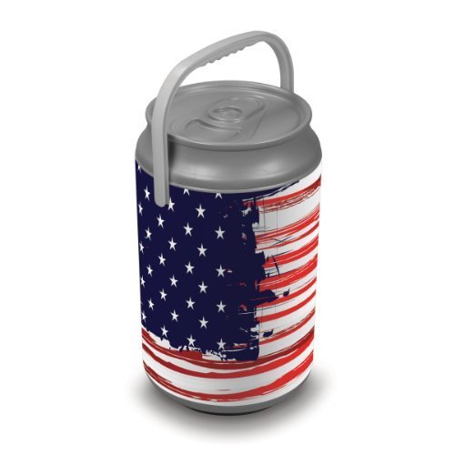 Oniva A Picnic Time Brand Mega Insulated Can Cooler Stars And Stripes