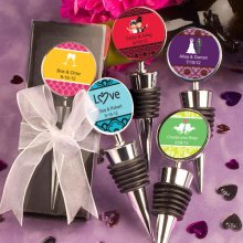 Personalised Expressions Collection Wine Bottle Stopper Favors