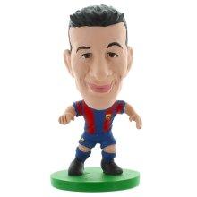 Busquets Barca Toon Home Kit Soccerstarz Figure - Sergio New -  barca toon busquets soccerstarz home sergio new