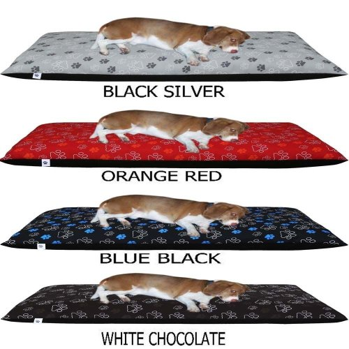 Comfortable Pet Dog Bed Cover - Removable Zipped Cover