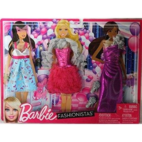 Barbie Clothes Night Looks - Masquerade Ball Fashions