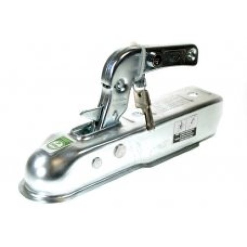 50mm Trailer Hitch With Integral Lock - Coupling Maypole Steel Pressed Tow 080l -  50mm coupling lock trailer integral hitch maypole steel pressed