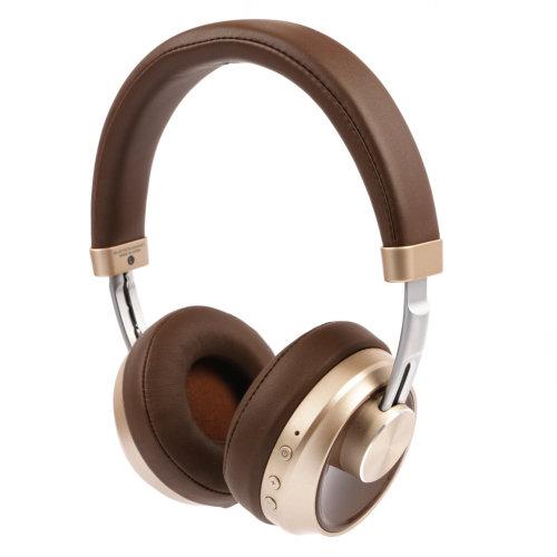 T7 Brown Bluetooth Headphones, Wireless - Heavy Deep Bass -  iPhone, Samsung