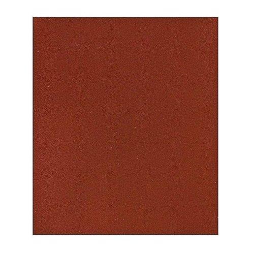 230 x 280 mm 180 Grit Tough Durable Sandpaper Sheets, Red - 6 Piece