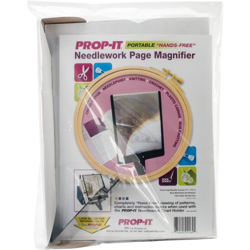 PROP-IT Hands-Free Page Magnifier-