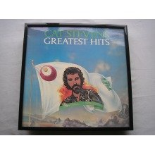 CAT STEVENS Greatest Hits LP cover framed for wall mounting BLACK
