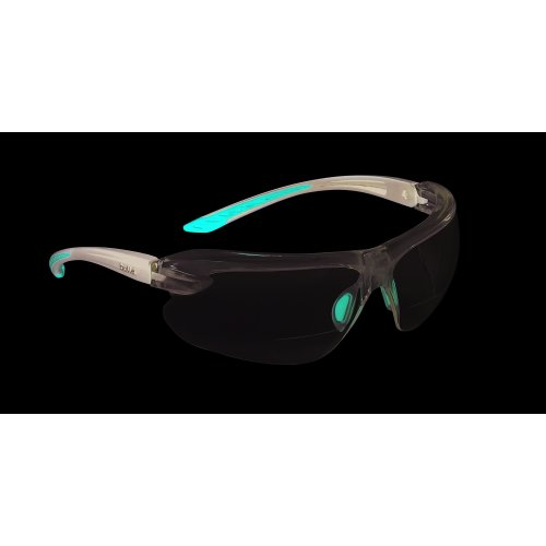 Bolle IRI-S Safety Glasses With Bifocal Dioptric Reading Area +2.5
