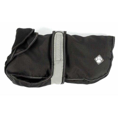 2 In 1 Black Dog Coat 25cm (10'')