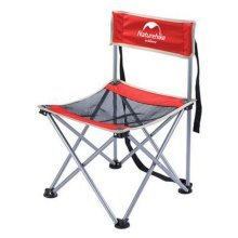 Portable Folding Chair Stool Camping Chairs Fishing Travel Paint Outdoor, Grand Red