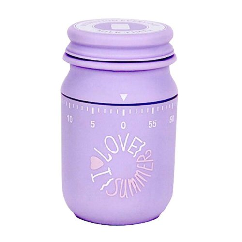 Rotates Cute Time Manager,Mechanical Reminder,Milk Bottle Type Timer,H04