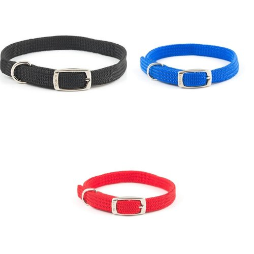 12 Colors Adjustable 24 Pieces Willbond Collars Puppy ID Collars for Newborn Puppy