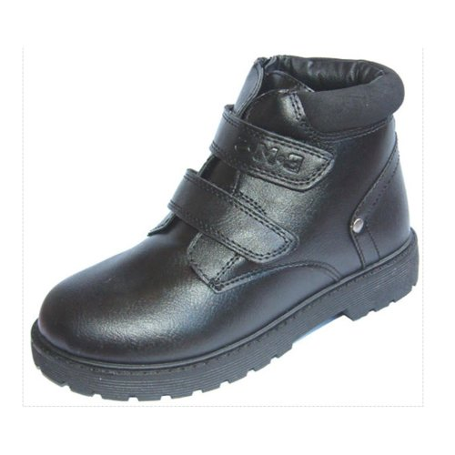 Buckle My Shoe Black School Boots