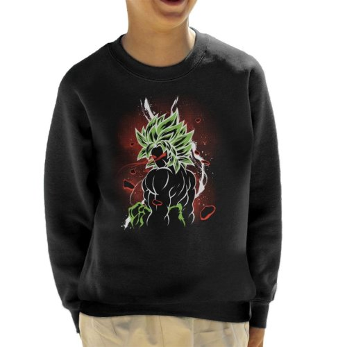 Dragon Ball Z Beserk Red Eyes Kid's Sweatshirt